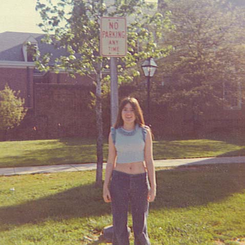 Here is an example of one of my favorite outfits. I was 17 in this picture.