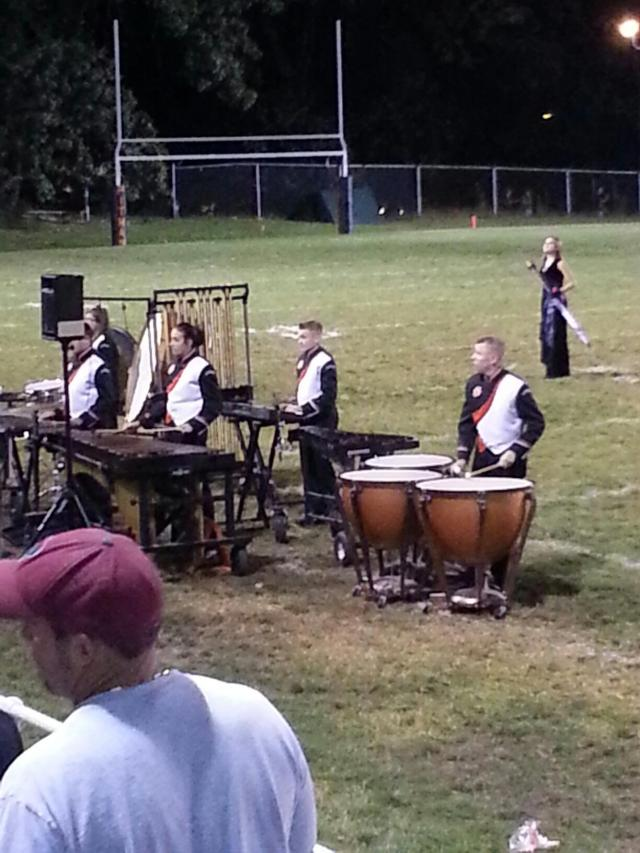 Band at school sports!