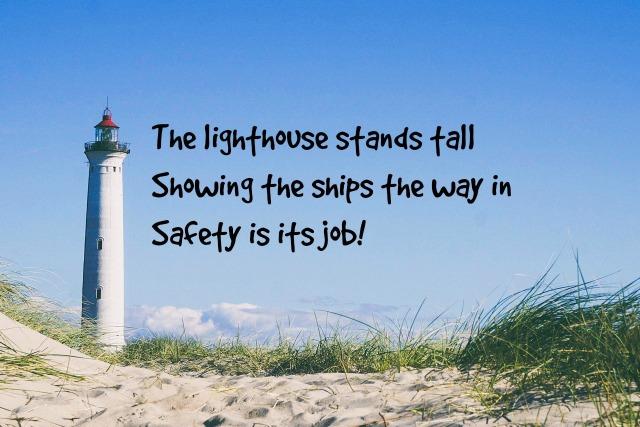 lighthouse haiku