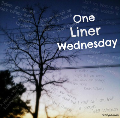 1-liner Wednesday